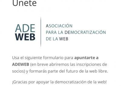 ADEWEB - Presentación en sociedad 8